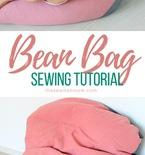DIY bean bag chair sewing tutorial