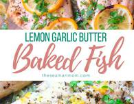 Lemon garlic butter fish recipe