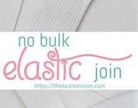 Elastic join sewing tip