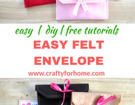 Easy Felt Envelope
