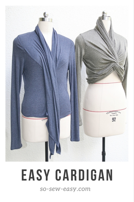 Transformable Easy Cardigan: Dressing in Layers
