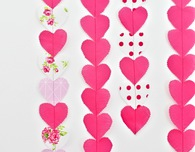 VALENTINE HEART GARLAND SEWING TUTORIAL
