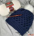 Diamond Crochet Hat