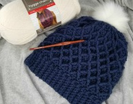 Diamond Crochet Hat