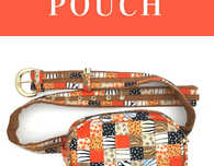 The Belted Pouch – Free Pattern And Tutorial