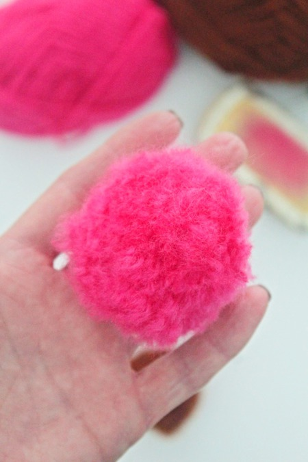 Fuzzy Pom Pom Craft