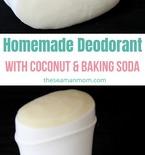 DIY homemade deodorant
