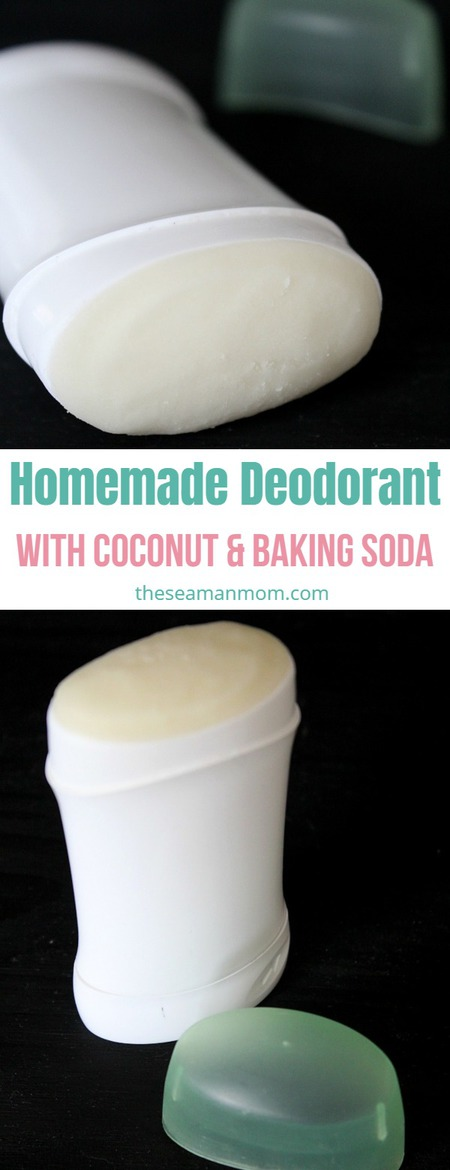 DIY homemade deodorant