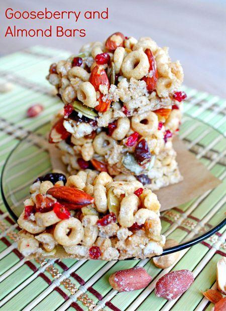 Healthy Cheerio Bars