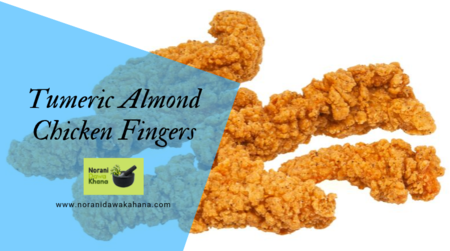 Tumeric Amond chicken fingers