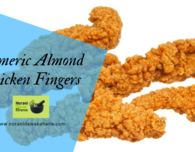 Tumeric Amond chicken fingers