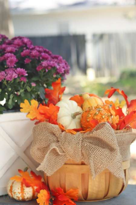 Fall Porch Idea