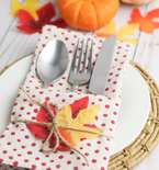 Thanksgiving Cutlery Holder