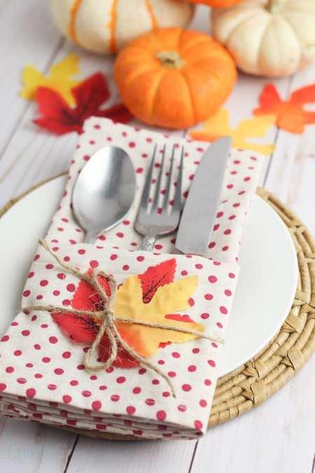 Thanksgiving Cutlery Holder