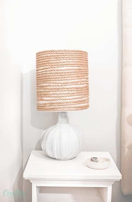 DIY RUSTIC LAMP