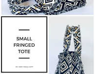 Small Fringed Tote Bag Pattern