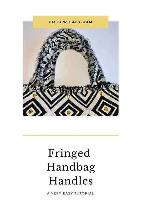 How to make fringed handles for handbags