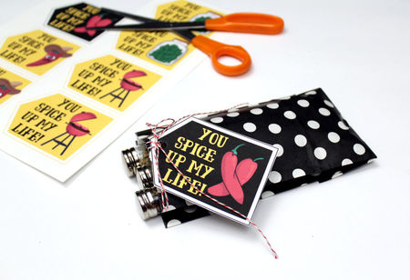 DIY Valentine's Day Gifts for Him with Printable Valentines (for Men Who Love to