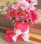 Rain Boots Vase