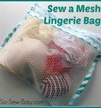 Mesh Lingerie Bag