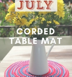 Star Spangled Table Mat