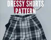 Women's Dressy Shorts Free Sewing Pattern