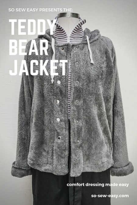 Teddy Bear Jacket Pattern