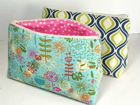 Easy Cosmetics Bag Pattern