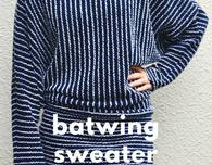 Batwing Sweater Top FREE Pattern