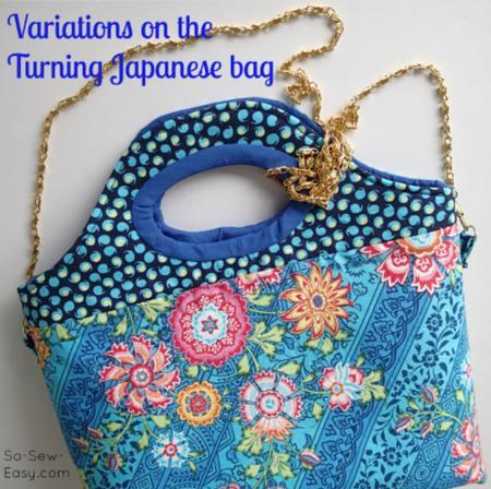 Turning Japanese Bag FREE Sewing Tutorial