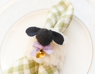 DIY Easter Sheep Napkin Rings