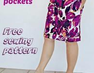 Simple Summer Pleated Skirt FREE Pattern
