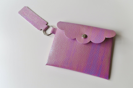 No Sew Faux Leather Purse