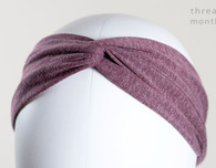 How to Make Stretch Headbands with a Twisted Knot