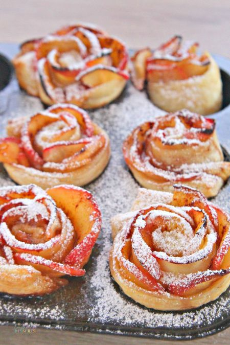 APPLE ROSES PASTRY