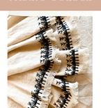 Easy Handmade Fabric Border