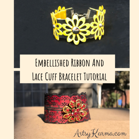 How to Make a Lacy Ribbon Cuff