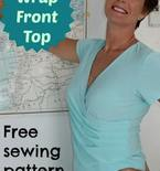 Wrap Top FREE Sewing Pattern