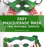 Easy Masquerade Mask