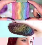 DIY Rainbow Highlighter