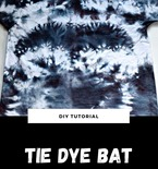 Bat Tie Dye
