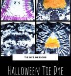 Halloween Tie Dye Shirts