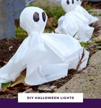 Halloween Ghost Pathway Lights