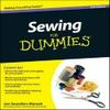 cover of sewing for dummies book