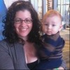 Carrie Nardini with her son