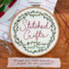 "cover of ""stitched gifts"""