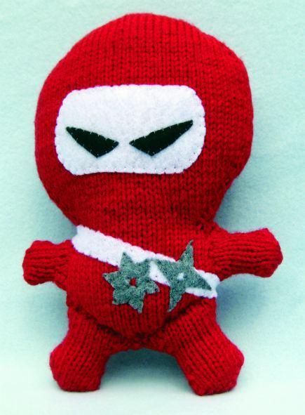 Knitting Terms Kfb : Ninja amigurumi free knitting pattern craftfoxes