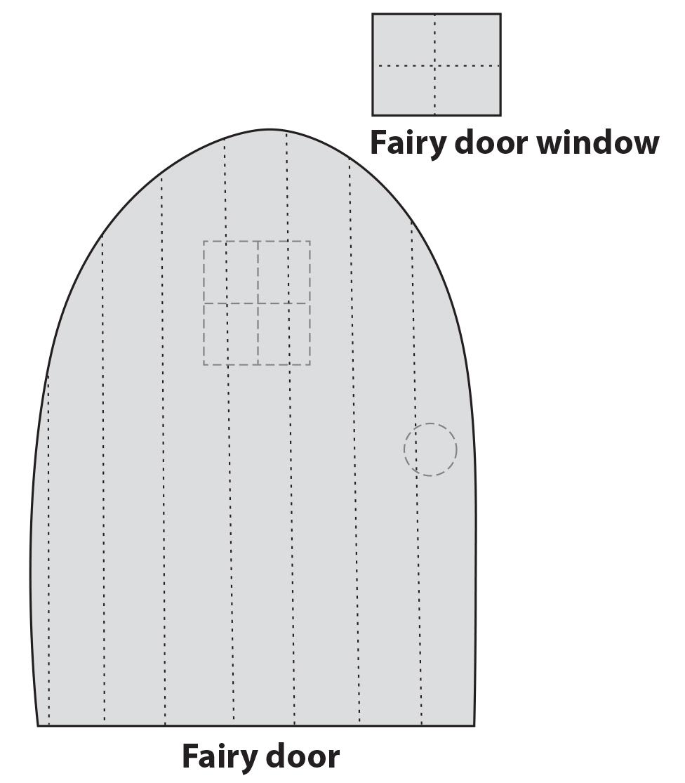crafts for kids foam fairy door craftfoxes