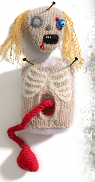 Zombie Knitting Pattern : New zombie doll pattern