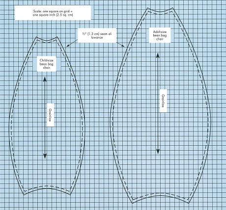Use The Side Panel Pattern To Cut Six Side Panels From The Outer Fabric And  Six From Muslin. Use The Bottom Pattern To Cut Two Pieces From The Outer  Fabric ...